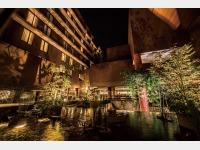 中庭夜景イメージ