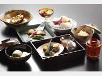 昼食一例(京料理)
