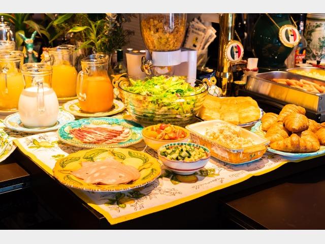 朝食洋食ブッフェイメージ-1