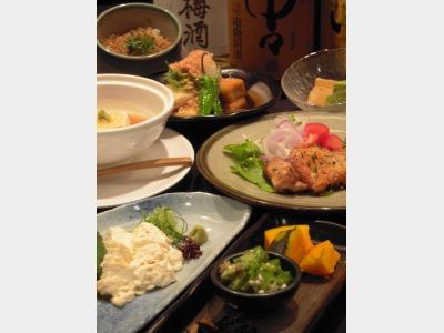 夕食イメージ(コース料理)