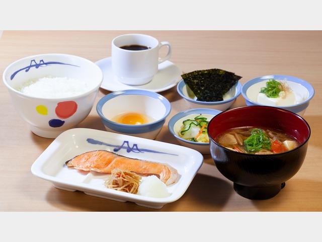 松屋 焼鮭定食