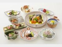 夕食_懐石料理一例