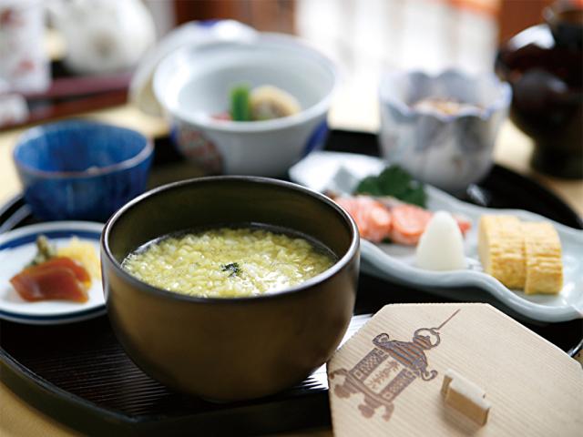 朝食(茶がゆ)イメージ