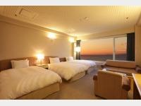 客室一例 海側洋室