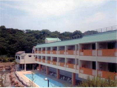 ホテル天山閣 海ゆぅ庭の外観