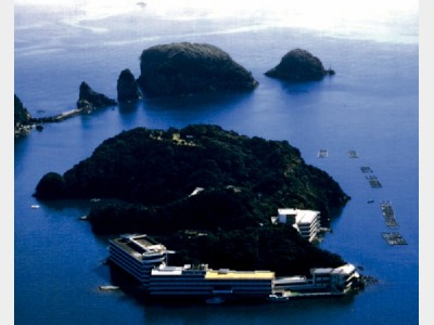 ホテル中の島