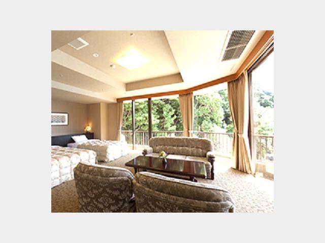 客室一例 和洋室