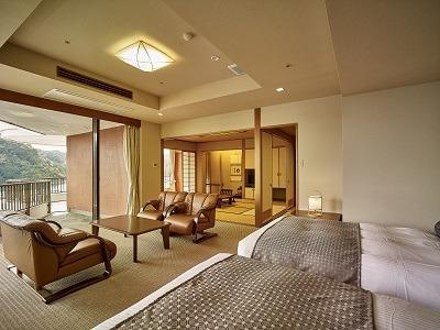 客室一例 和洋室コーナー