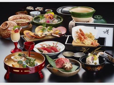 熊野会席(春)料理内容が変わる日もございます。