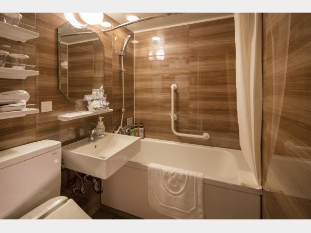 客室一例 客室バスルーム