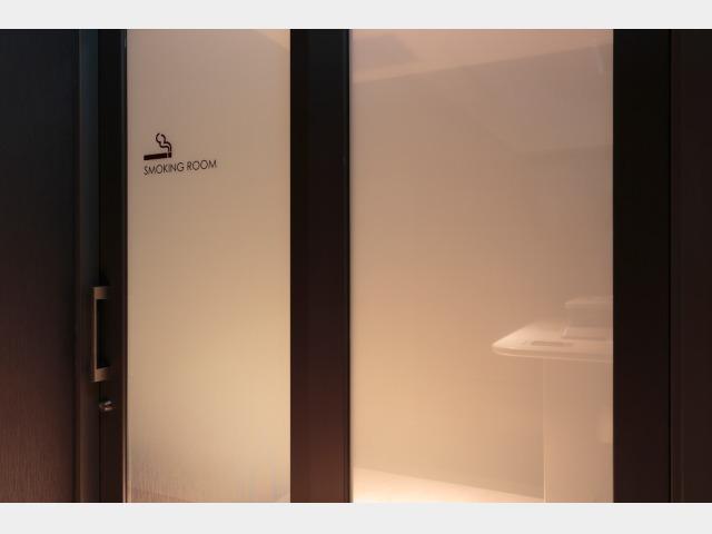 喫煙スペース(2階)