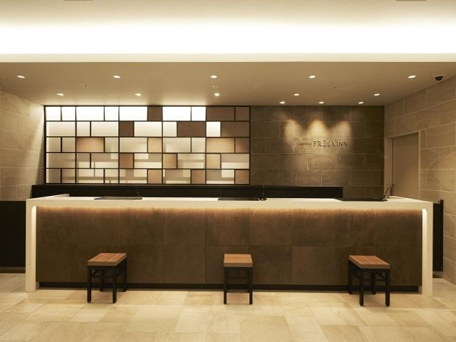【ホテル・設備】フロントカウンター(1階)