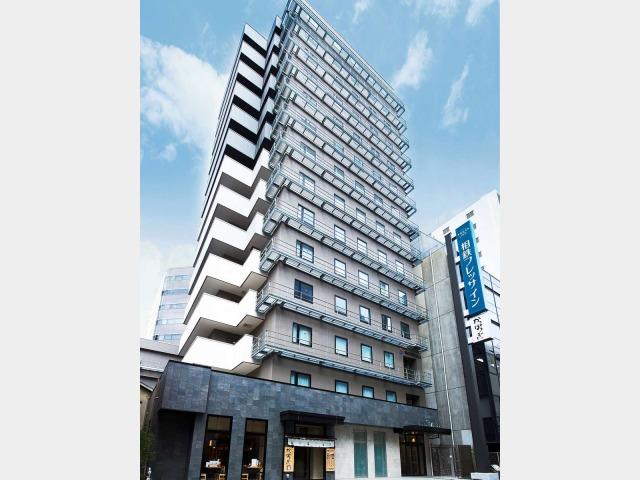 【ホテル・外観】駅徒歩5分の新築ホテル、相鉄フレッサイン大阪淀屋橋