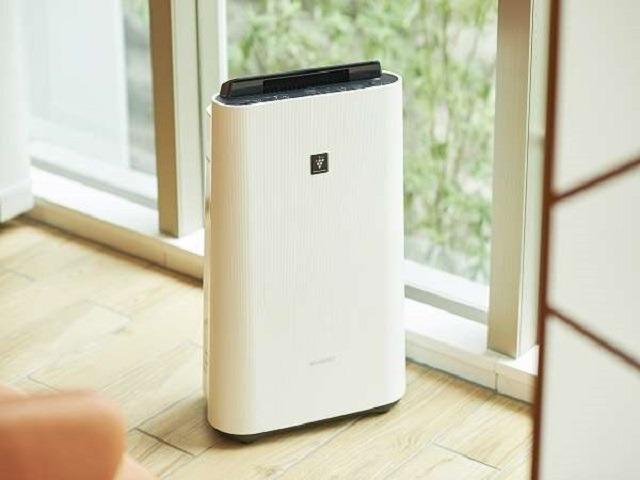【客室・備品】加湿機能のついた空気清浄機、全室完備
