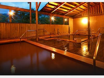 露天風呂 「櫟(クヌギ)の湯」