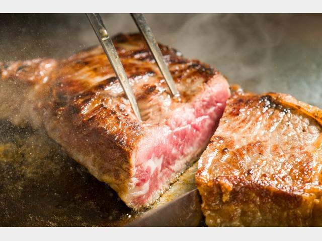 ステーキ一例
