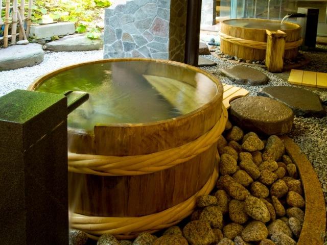 瑞穂の湯(樽風呂)