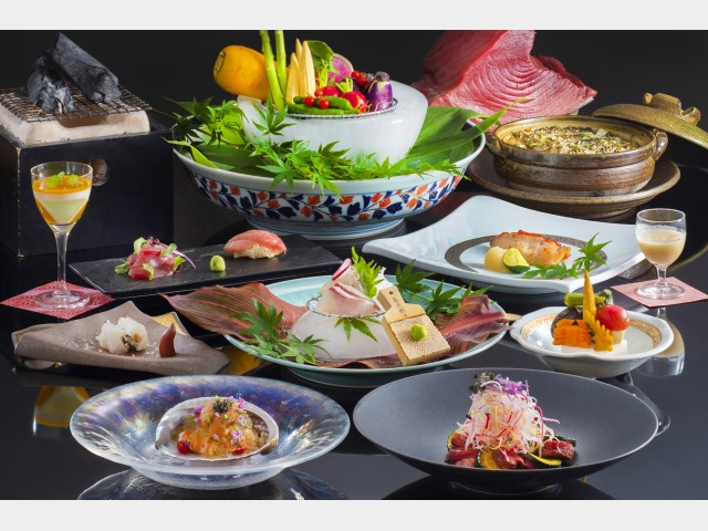 日本料理「さざんか」和食膳イメージ