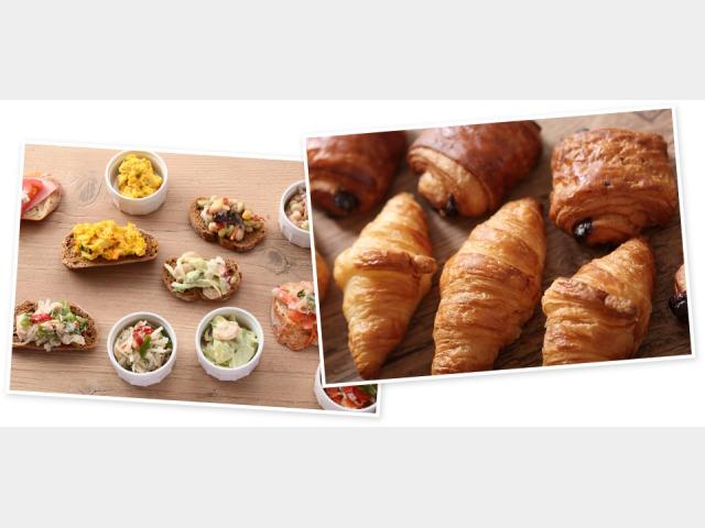 朝食ビュッフェ イメージ1
