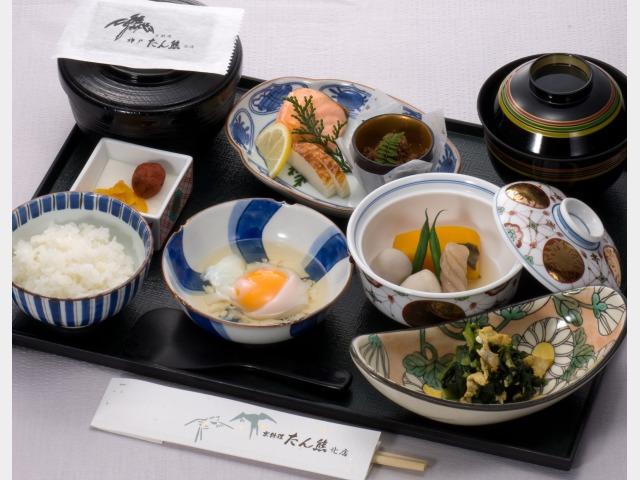 京料理「たん熊」和朝食