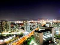 夜景イメージ(市街地側)