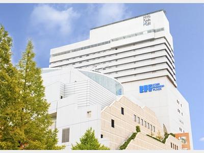 ホテルプラザ神戸の外観