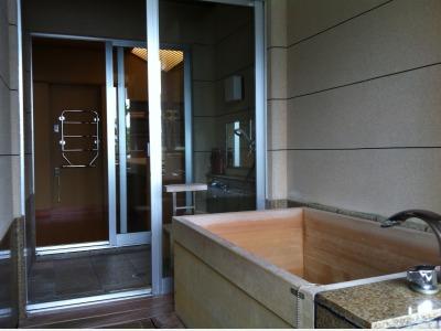 客室一例 湯賓館 露天風呂付客室