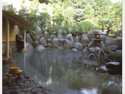 木肌の湯 浮殿 露天風呂