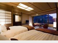 飛天 客室一例 和室ベッド(天ゆら)
