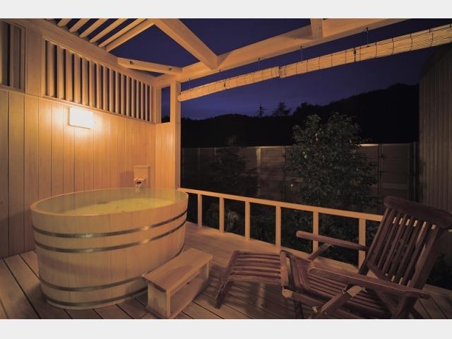 露天風呂客室 一例