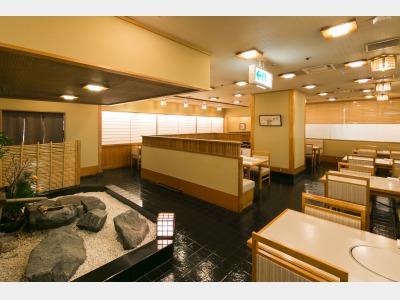 和朝食会場 ホテルB1 和食堂「鞆の浦」