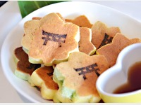 朝食バイキングイメージ(もみじのパンケーキ)