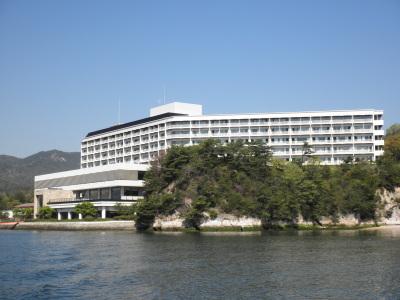 安芸グランドホテルの外観
