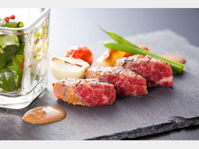 03 日本の宿 夕食一例