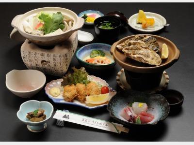 冬 夕食一例(会席料理)