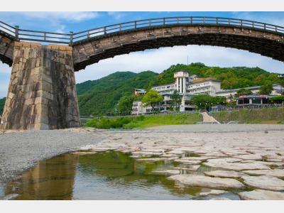 錦帯橋と外観イメージ