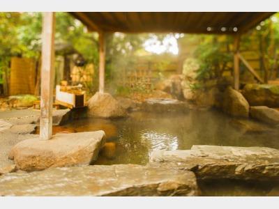露天風呂(維新黎明の湯)