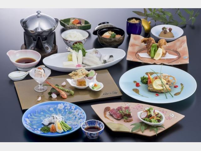 夕食 会席料理(イメージ)
