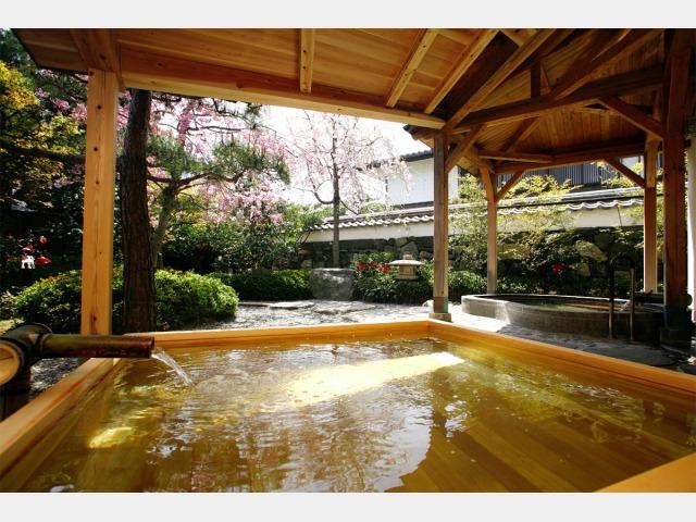 露天風呂白壁の湯