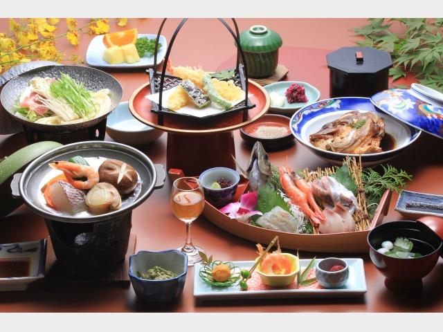 夕食一例【源平会席】