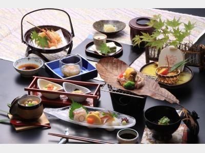 季節の和会席料理(一例)