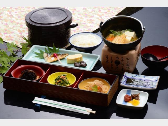 身体に優しい和食セットメニュー(一例)