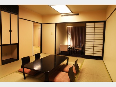 デラックス和室2間一例