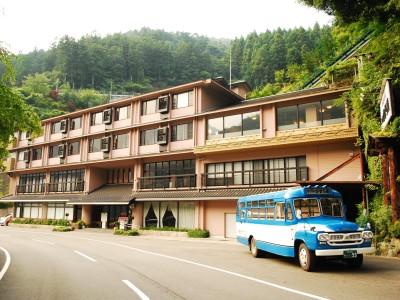 新祖谷温泉 ホテルかずら橋の外観