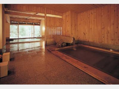 大浴場内(ひのき風呂 女性)