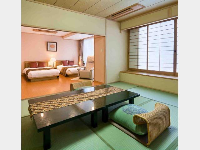 客室一例(開花亭特別室/和洋室)