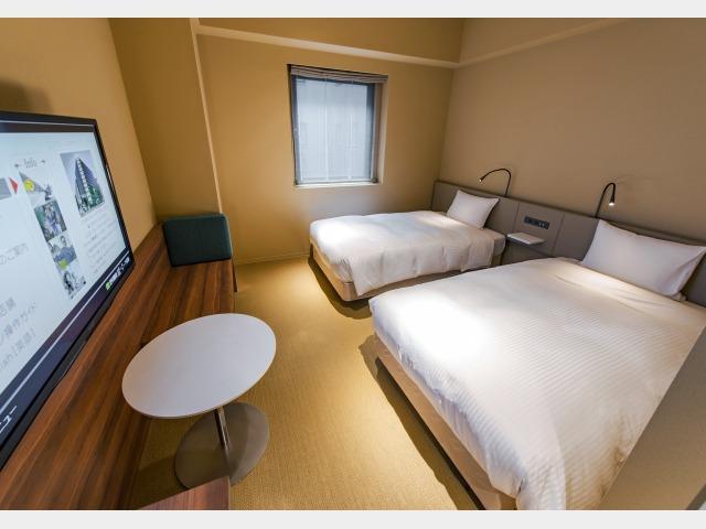 客室一例 1号館 スタンダードツイン