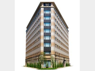 ザ ロイヤルパークホテル 福岡の外観