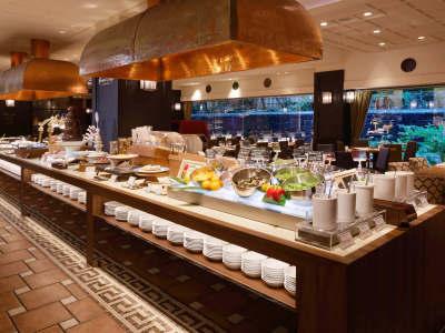 【朝食】オールデイダイニング「グランカフェ」和洋ブッフェ02