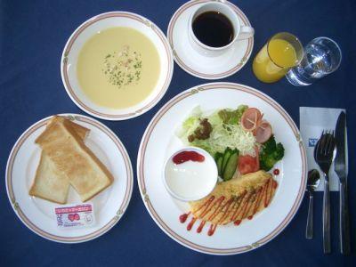 朝食 洋食セット